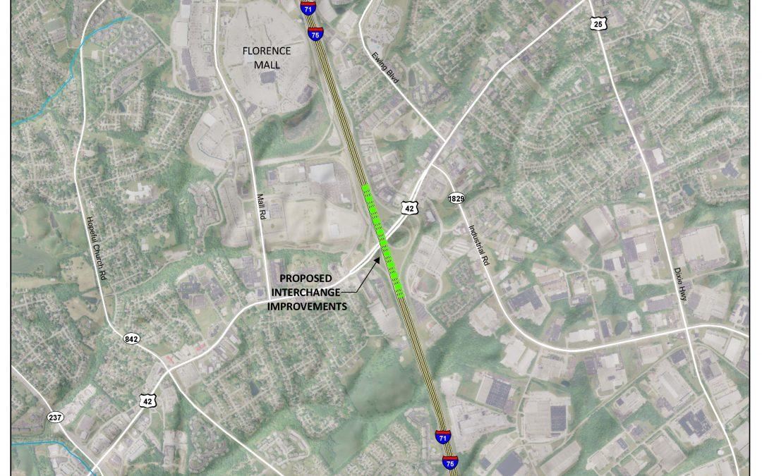 US 42 Interchange Modification